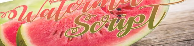 Watermelon Script for modern calligraphy